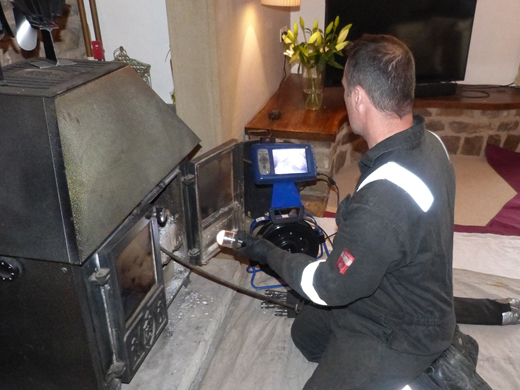 chimney cctv survey